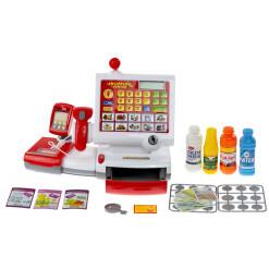 RC model auto na D.O. ROAD CRAWLER SL-103A RED