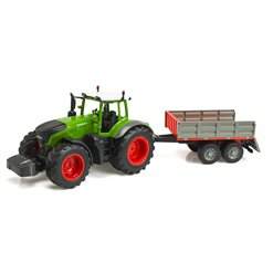 RC model traktor s vlečkou na D.O. RC E354-003