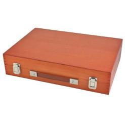 Pomôcka edukačná počítadlo drevené s číslami 32300