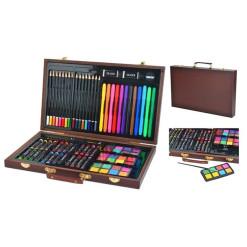 Pomôcka edukačná drevený vozík s číslami BEILALUNA