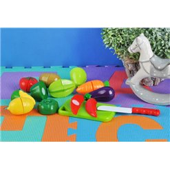 Hračka sada ovocia a zeleniny na rezanie NO.666S