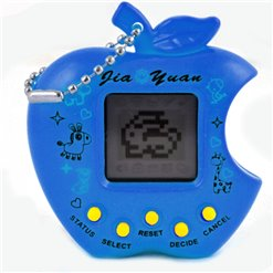 Hračka TAMAGOTCHI jablko modré JY-5022