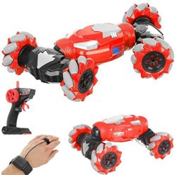 RC model auto na D.O. DOUBLE-SIDED TWIST RED DRIFT