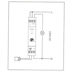 Odpudzovač vtákov maketa SOKOL 40cm
