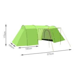 Krabica panelová 2-dvojitá 4FA24927 nízka STANDARD