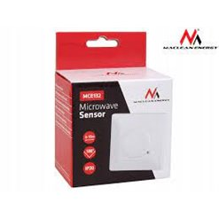Senzor PIR do krabičky biely MCE132 mikrovlnný