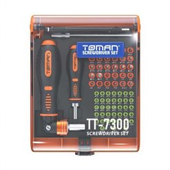 Sada skrutkovačov TOMAN TT-7300 73ks