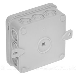 Krabica plastová IP54 85x85mm PP85