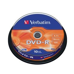 DVD-R VERBATIM 10cake