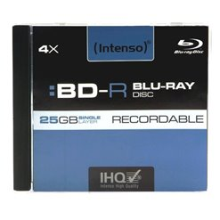 BD-RE,RW blu-ray disc INTENSO v plastovom obale
