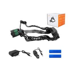Jednozásuvka GPT-16Op zelená