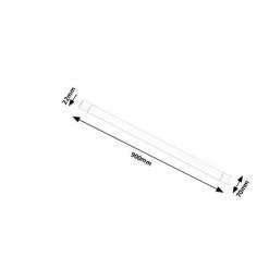 Lampa stolová RABALUX 4168 Dylan biela