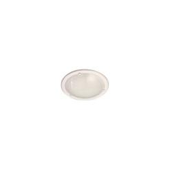 Vidlica 230V plochá biela WT-1001-B (ZN-11)