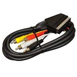 Kábel SCART-4RCA IN-OUT 1,5m EN05