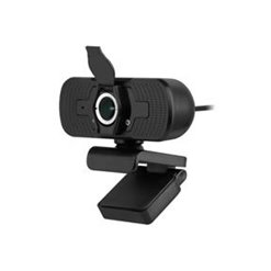 Webkamera k PC s mikrofónom čierna REBEL KOM1056
