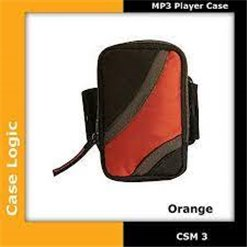 Brašňa na MP3 CASE LOGIC CSM3 čierno/orange