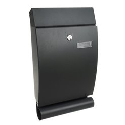 Schránka poštová MALATEC 12329 (40x25x7cm) sivá