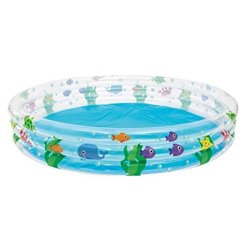 Bazén BESTWAY 51005 Ø183x33cm transparentný/rybky