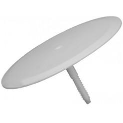Slamky kovové 4xrovné 4xohnuté 2xkefka farebné SKF