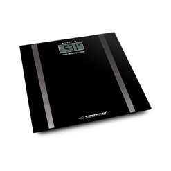 Váha osobná digitálna ES EBS018K(merá tuk,vodu,sv)