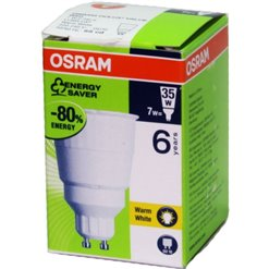 Žiarivka OSRAM GU10 7W/827 úsporka DELVALUE