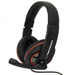Slúchadlá na uši multimediálne ESPERANZA EH118