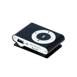 Prenosný MP3 prehrávač SETTY čierny+slúchadlá