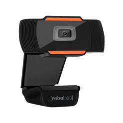 Webkamera k PC s mikrofónom čierna REBELTEC LIVE