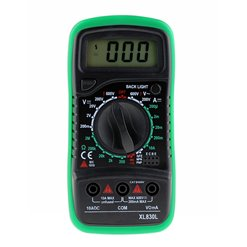 Multimeter digitálny XL830L GREEN (MAS830)