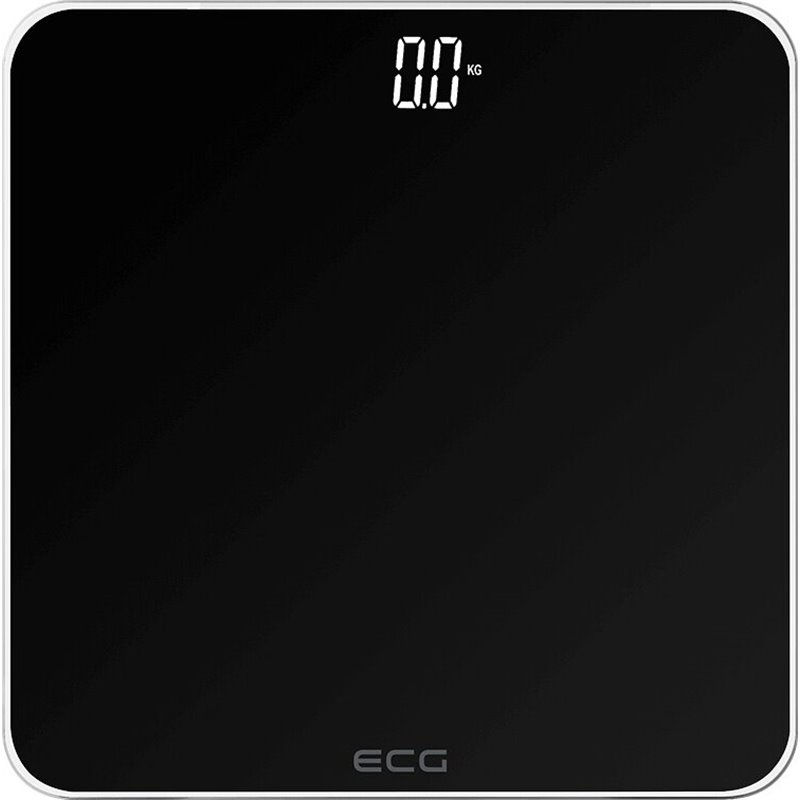 Váha osobná digitálna čierna ECG OV1821