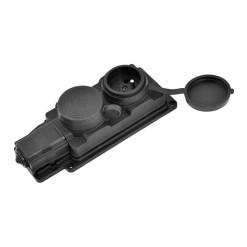 Senzor PIR 110° nástenný sivý LEDVANCE WALL 110DEG