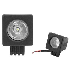 Reflektor LED 10W čierny IP65 10-30V LA206