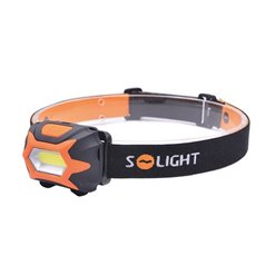 Svietidlo LED čelovka 3W 150lm 3xAAA SOLIGHT WH25
