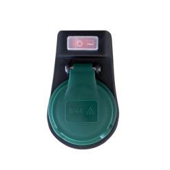 Vypínač kolískový 250V/16A ON-OFF červený STV01S
