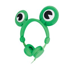Slúchadlá na uši SETTY FROGGY zelené
