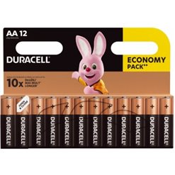 Batéria Duracell LR06 BASIC alkalická 12blister