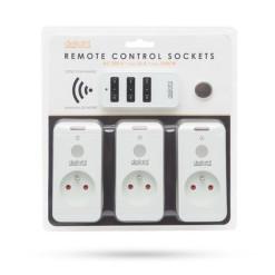 Bubon PVC 15m/4z 3x1mm SOLIGHT PB22O orange