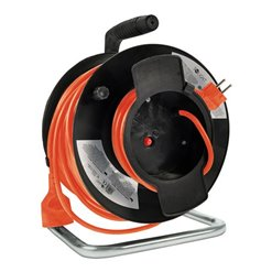 Bubon PVC 50m/1z 3x1,5mm SOLIGHT PB12O orange
