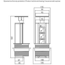 Hračka bábika s kuchynkou MY HAPPY KITCHEN NO.6924