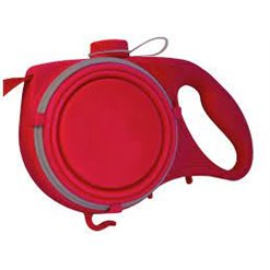 Multifunkčné vodítko na psa 5v1 AUQA LEASH červené 135cm