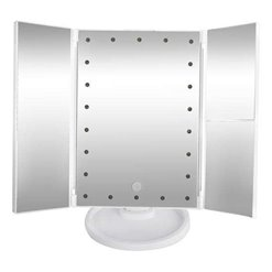 Zrkadlo s osvetlením LUSTERKO LED7032 otváracie