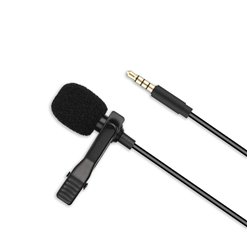 Mikrofón štipcový XO-MKF01 plastový