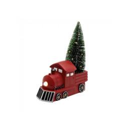 Trezor červený tvar knihy 24x15,5x5,5cm