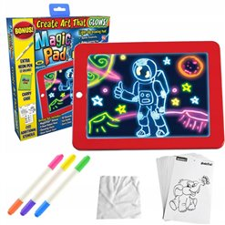 Tabuľa na kreslenie pre deti MAGIC SKETCHPAD modrá