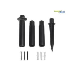 Zásuvka spojovacia 230V gumená IP44 P77