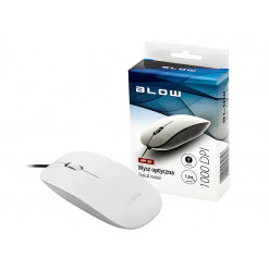 Myš optická drôtová BLOW MP-30 biela