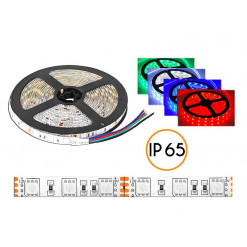 Pás LED 5050 RGB 60LED/m farebný 14,4W IP65