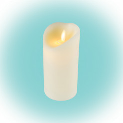 Sviečka LED vosková s plameňovým efektom CMW16