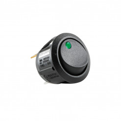 Vypínač kolískový 250V/6A zelený STV12