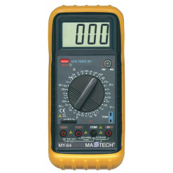 Multimeter digitálny MASTECH MY64